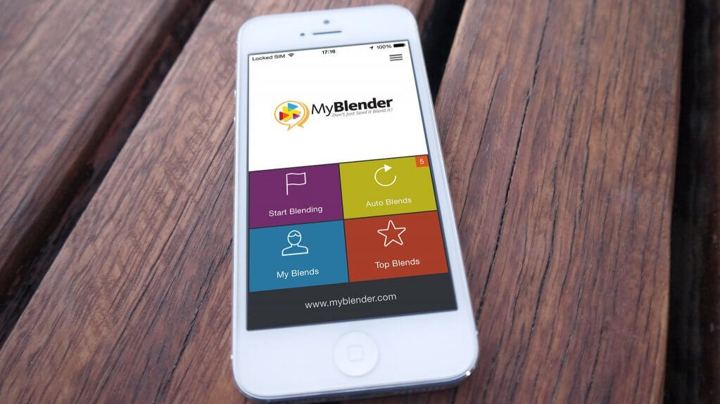 MyBlender – Delivering Mobile Brand Engagement